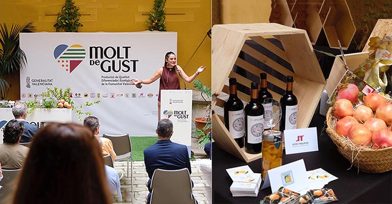 'Molt de Gust': nuevo sello de calidad para promocionar los productos de calidad y ecológicos de la Comunitat Valenciana