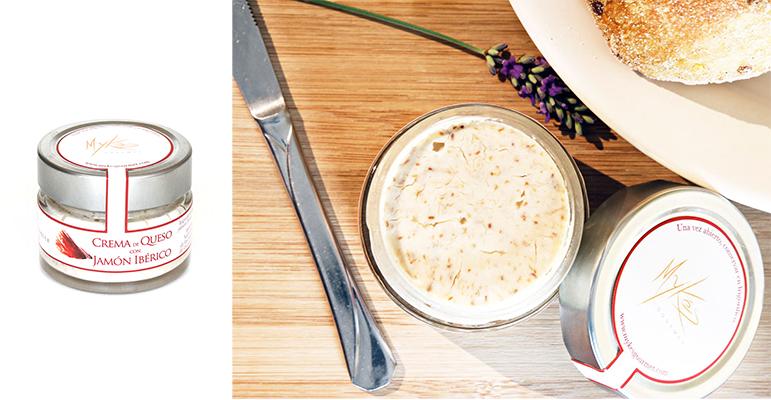 Crema de queso de oveja con jamón ibérico, una fusión perfecta de sabores