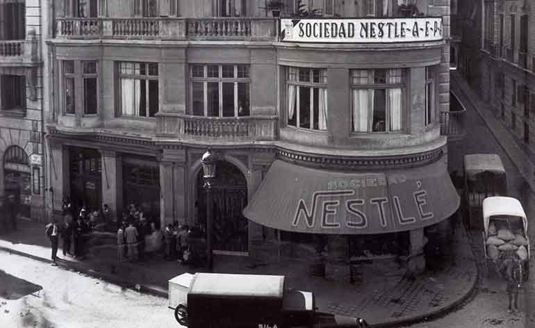 La sociedad Nestlé España cumple 100 años
