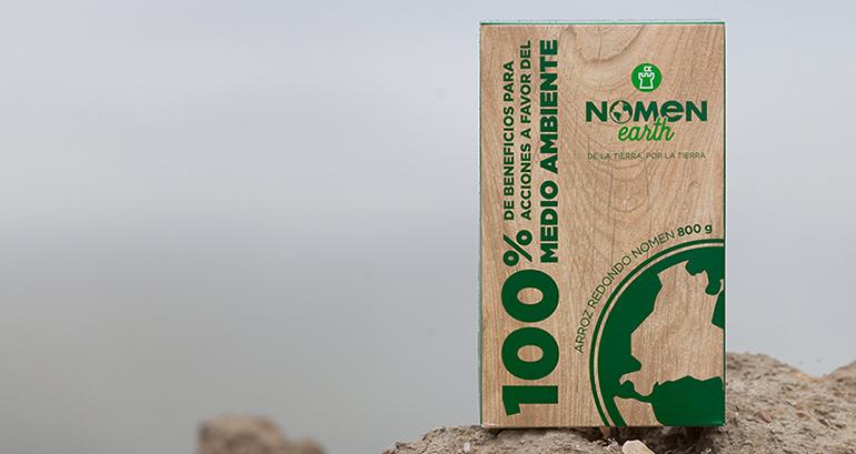 Nomen Earth, el arroz cuyo 100% del beneficio se destina a la protección del medio ambiente