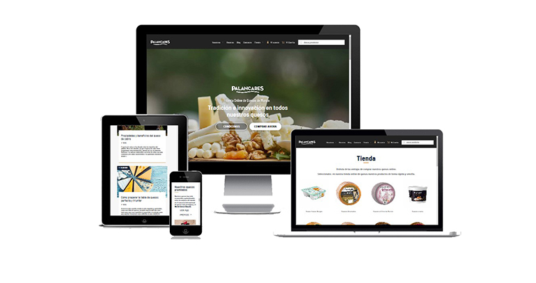 Palancares Alimentación renueva su web y tienda online