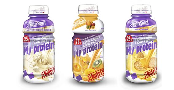 Bebida con elevado aporte proteico, baja en carbohidratos y grasas