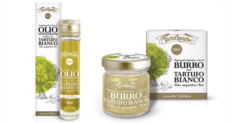 Edición limitada de aceite y mantequilla de trufa blanca, inspirada en la naturaleza