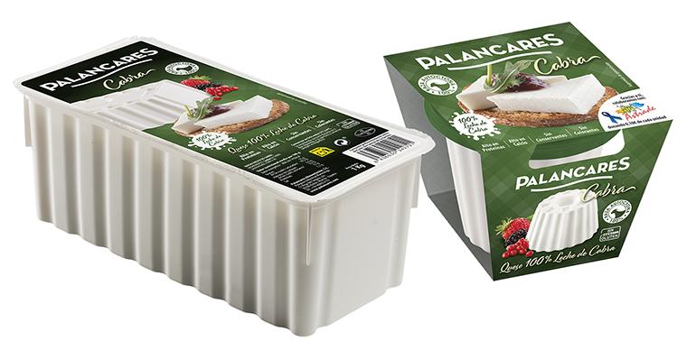 Queso fresco de cabra 100% natural, con altos niveles en proteína y calcio