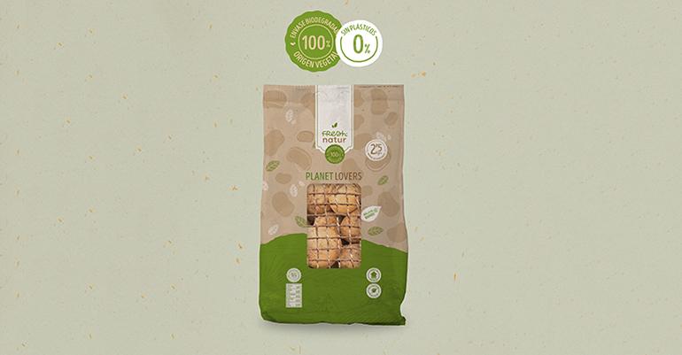 Patatas Lázaro sorprende al mercado español con el primer envase de patatas 100% biodegradable