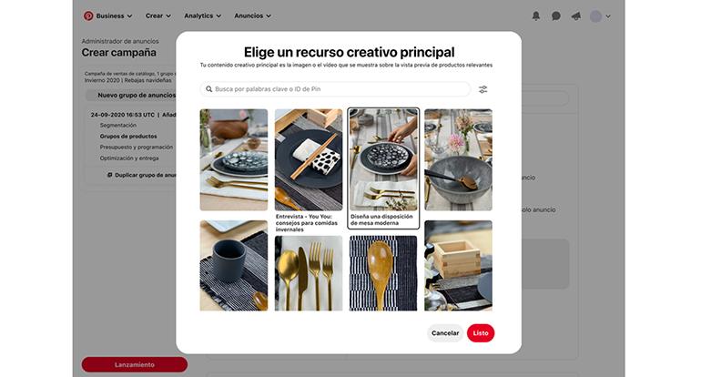 Pinterest lanza nuevas herramientas para que los comerciantes puedan seleccionar, destacar y analizar sus productos