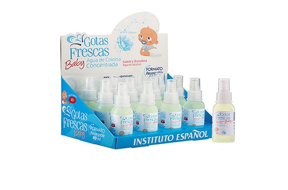Gotas frescas de colonia para madres y bebés
