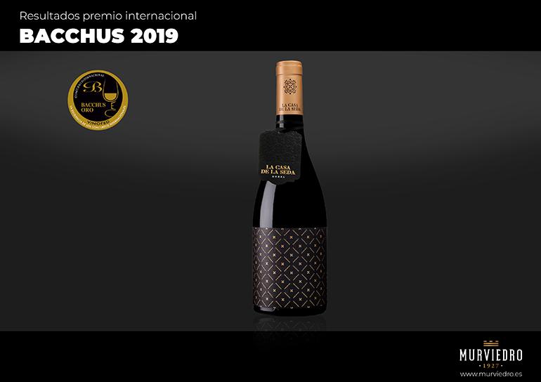 La Casa de la Seda de Murviedro recibe el oro en los premios Bacchus 2019