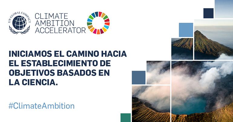 """Primaflor se une al """"Climate Ambition Accelerator"""",  el programa del Pacto Mundial de Naciones Unidas para conseguir una reducción de las emisiones"""