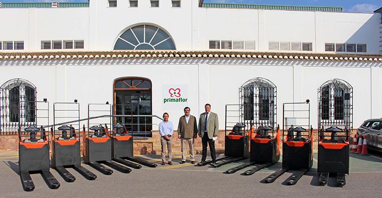 La empresa hortofrutícola Primaflor apuesta por la tecnología de litio para mejorar la sostenibilidad de sus almacenes