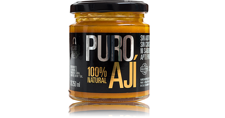 Puro aji, una salsa natural que trae la gastronomía de Perú a nuestras mesas