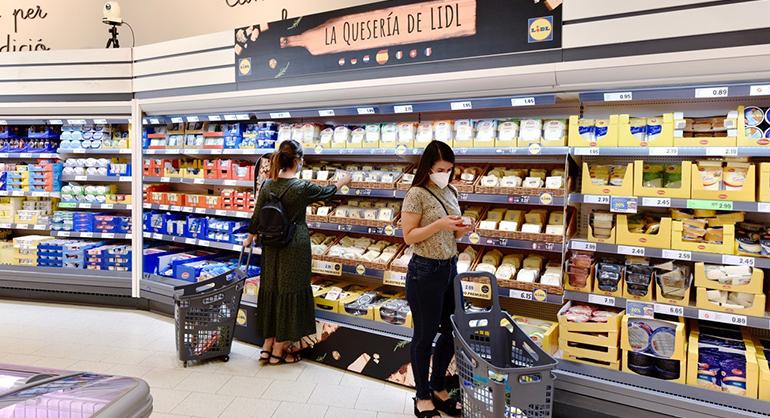 """""""La Quesería de Lidl"""": nueva propuesta de valor con quesos gourmet españoles e internacionales de menos de 2,50 euros"""