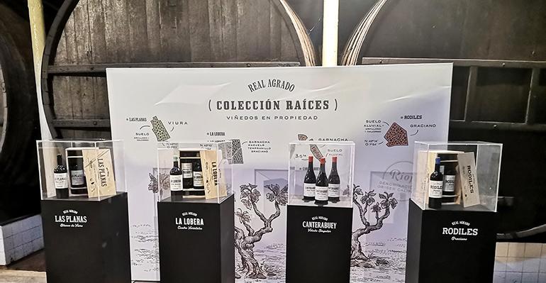 Nueva imagen de los vinos Real Agrado para mostrar sus raíces y el valor del terruño