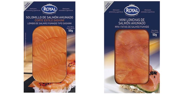 Salmón ahumado y bacalao desalado de máxima calidad en prácticos formatos más pequeños