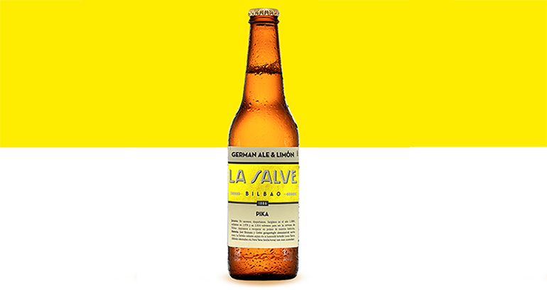 La Salve Pika: la cerveza con limón natural exprimido con sabor a Bilbao