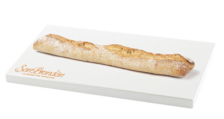 Versátil barra de pan lista en sólo 5 minutos, con miga esponjosa y corteza fina