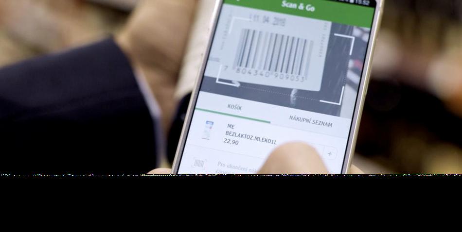 Sistema 'Scan & Go': un 66% de consumidores prefiere escanear los productos desde su propio smartphone para comprar en el súper