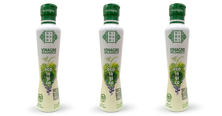 Vinagre 100% ecológico y natural, con envase respetuoso con el entorno