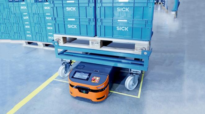 Safe AGV Easy, la solución de seguridad para vehículos guiados automatizados