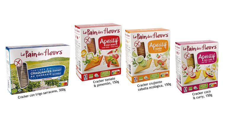 Crackers en cuatro sorprendentes sabores, ecológicos y 100% veganos