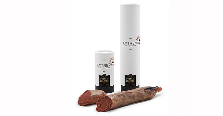Sobrasada picante artesanal que une las mejores materias primas y buen hacer de Extremadura y Formentera