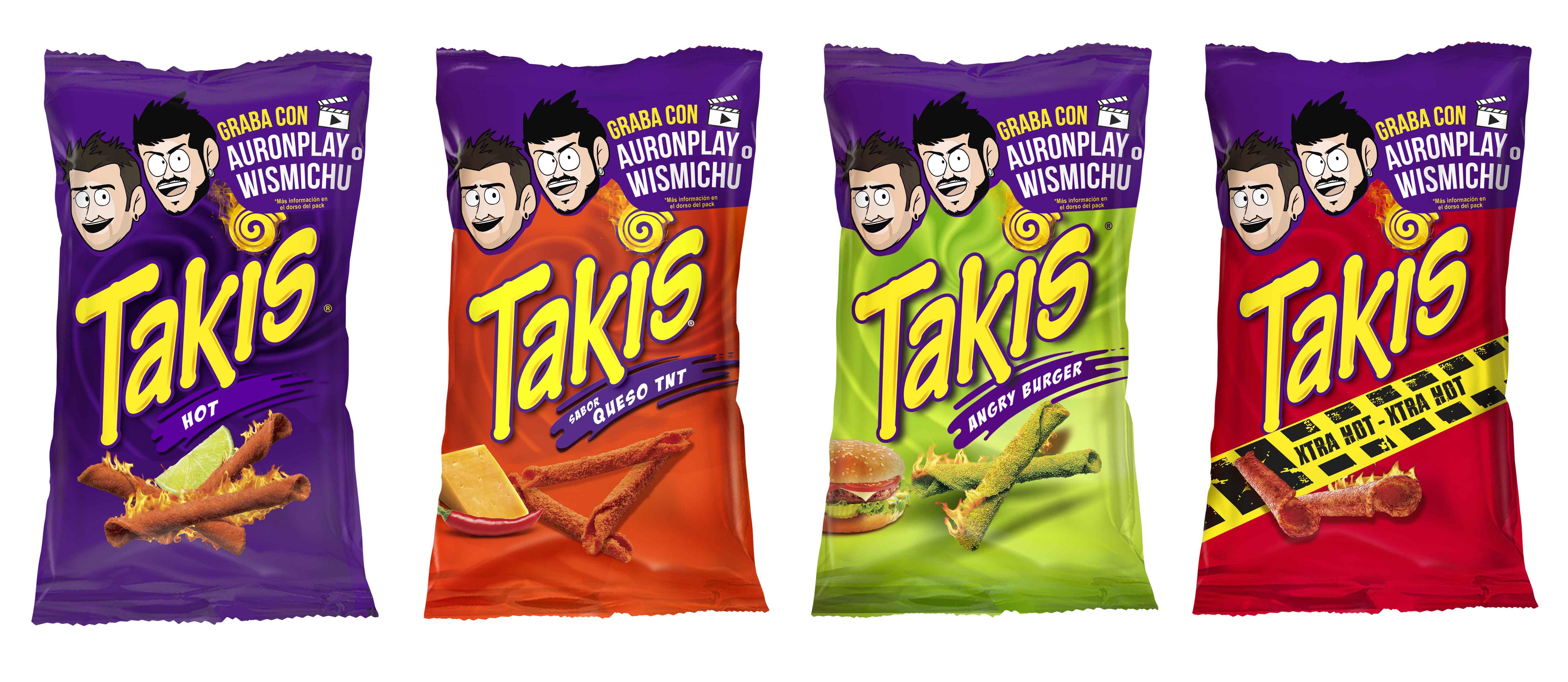 Promoción en Youtube para los snacks más picantes. ¿Te atreves?