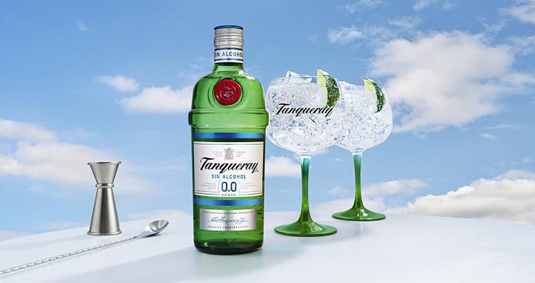 Tanqueray 0,0%, disfrutar ahora de esta ginebra inglesa sin alcohol y baja en calorías es posible