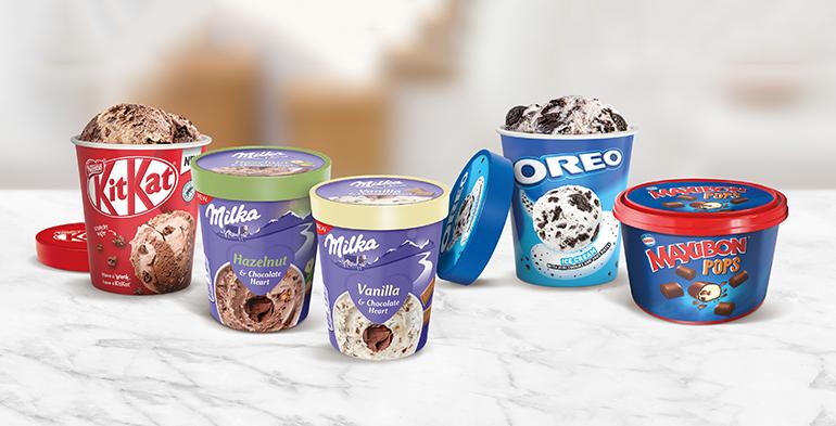 Nueva gama de cinco helados en formato tarrina y bomboncitos para este verano 2021