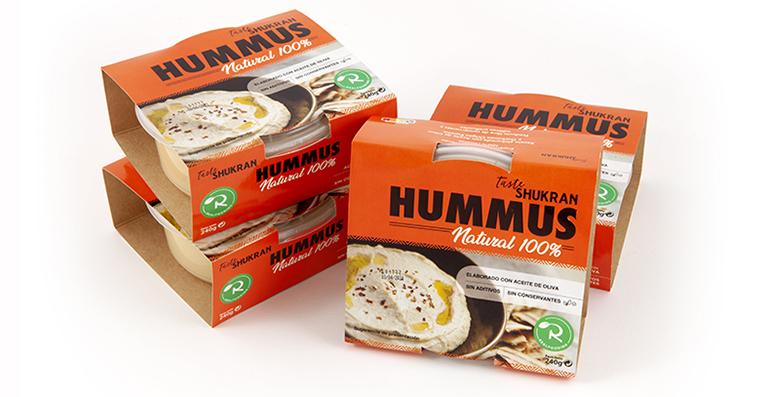 Hummus Realfooding: tradicional, con ingredientes 100% naturales y aceite de oliva