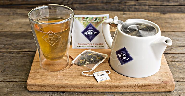 Café premium y té 100% orgánico de origen ético y primera calidad