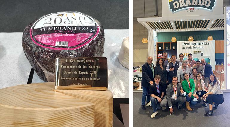 Gourmet Quesos: el Tempranillo de La Antigua elegido mejor de España  y tres medallas más en los International Cheese Awards
