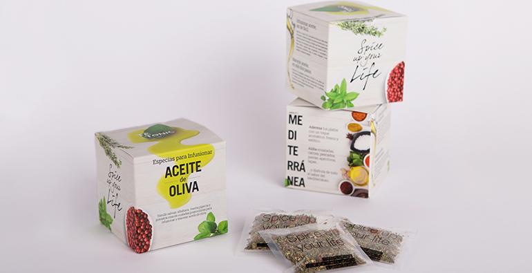 Pack de especias para maridar con aceite de oliva