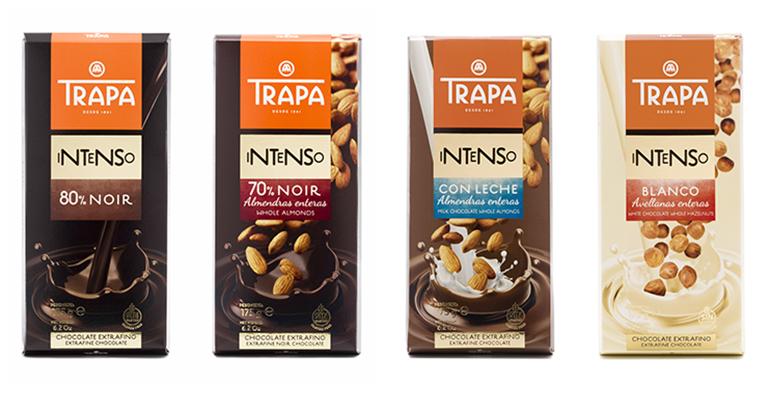 Gama Intenso con 10 variedades de tabletas de chocolate que enamoran el paladar