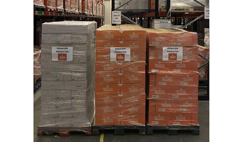 Chocolates Trapa dona miles de productos a hospitales de toda España