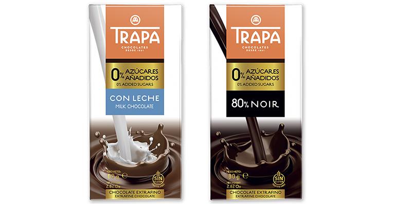 Crece la familia 0% azúcares añadidos con dos nuevas tabletas de chocolate