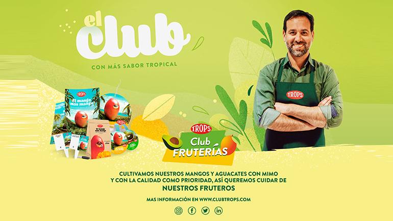 """Arranca la temporada de Trops, """"el mango más mango"""", con campaña promocional y el lanzamiento de un Club de Fruterías"""