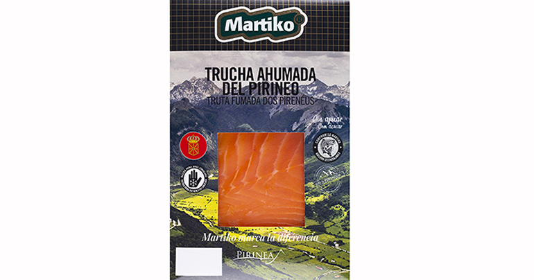Trucha ahumada del Pirineo, de granjas certificadas en un entorno privilegiado