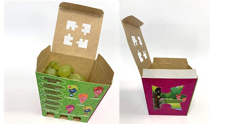 Uvas candie en un pack para los más pequeños de la casa