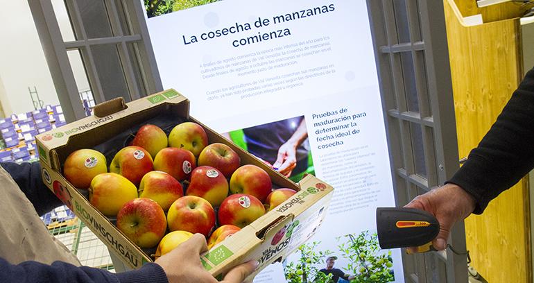 Manzanas ecológicas con nombre y apellidos de Bio Val Venosta