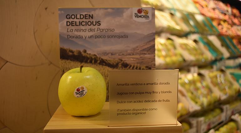 VIP – Val Venosta lleva 'El Paraíso de las manzanas' a mercas y fruterías mediante nuevas acciones de marketing