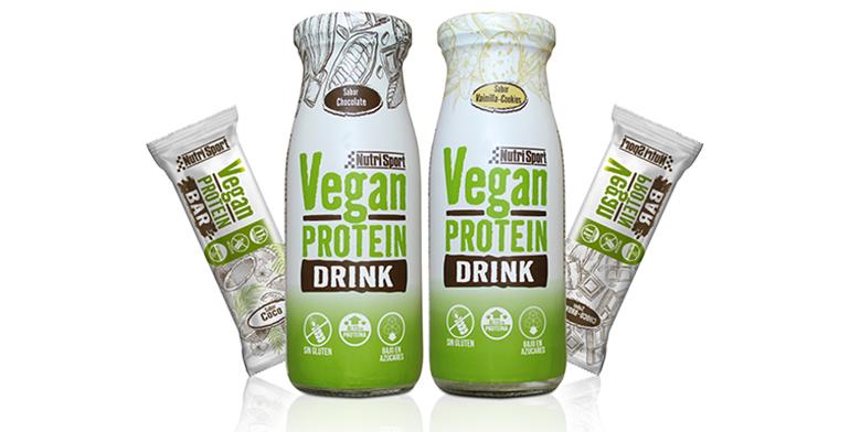 Vegan Protein Drink y Vegan Protein Bar, dos nuevos complementos veganos para cubrir las necesidades diarias de proteína