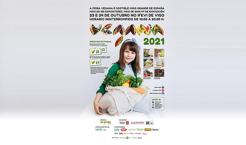 Vegana 2021: la primera Feria Vegana y Sostenible de Galicia llega a Vigo el 23 y 24 de octubre
