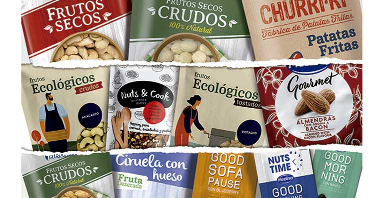 Aperitivos Medina apuesta por el ecommerce de su gama de frutos secos