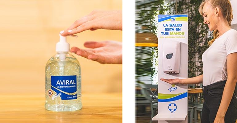 Soluciones profesionales de higiene y desinfección contra el Covid-19