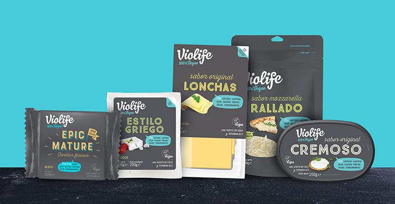 Completa gama de alternativas vegetales al queso en todos sus formatos