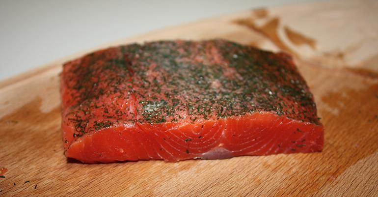 Salmón salvaje de Alaska que destaca por su sabor delicado y natural, de elaboración artesanal