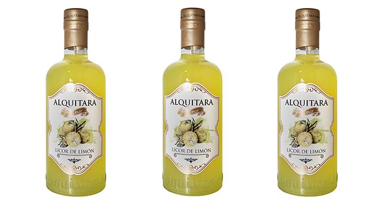 Licor de limón Alquitara: de aroma exótico y sabor refrescante