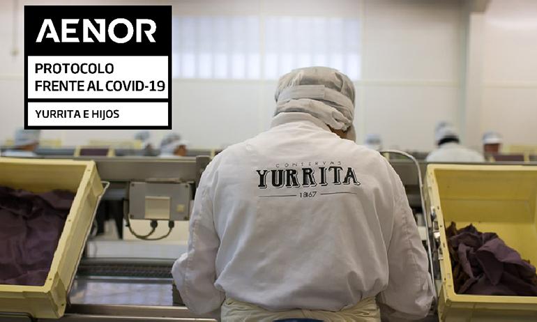 Yurrita Group consigue el certificado Aenor por sus medidas implantadas frente al Covid-19