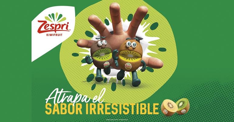 """Zespri vuelve a confiar en las mascotas estrella de la marca: los """"Kiwi Brothers"""" para la campaña promocional de este año"""
