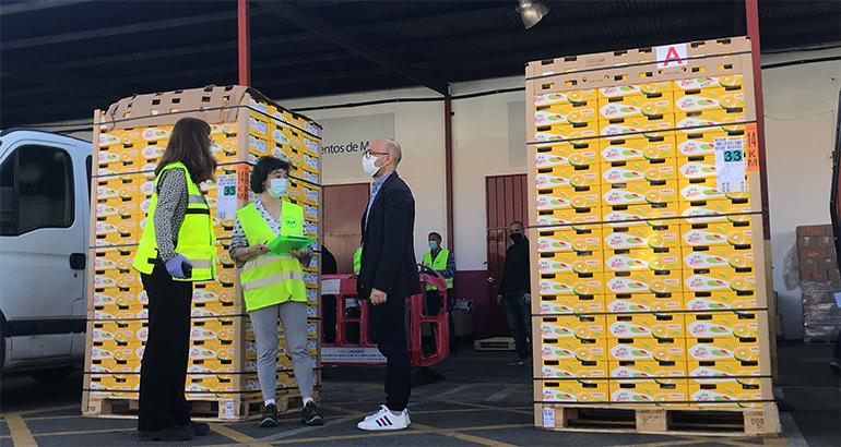 Zespri dona 66.000 kiwis SunGold al Banco de Alimentos y a la ONG Cesal